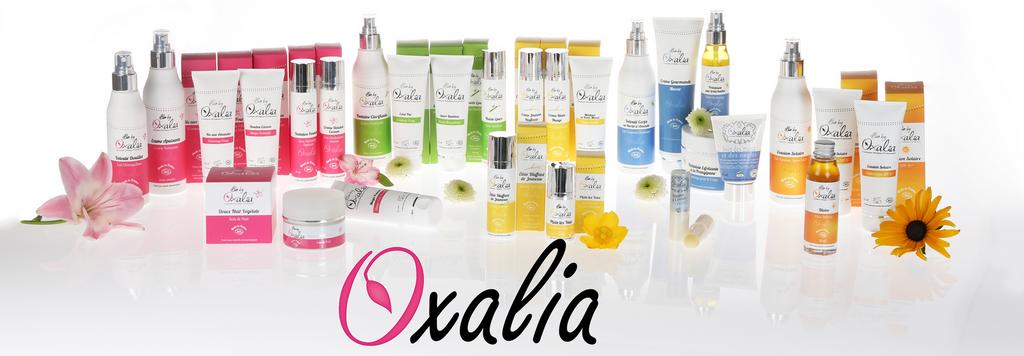 Produits Oxalia - Carol'Esthétique - Estheticienne à domicile